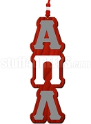 Alpha Pi Lambda Greek Letter Tiki Necklace