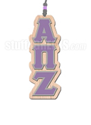 Alpha Pi Zeta Greek Letter Tiki Necklace