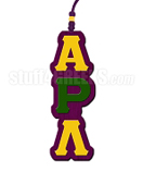Alpha Rho Lambda Greek Letter Tiki Necklace