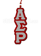 Alpha Sigma Rho Greek Letter Tiki Necklace