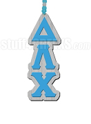 Delta Lambda Chi Greek Letter Tiki Necklace