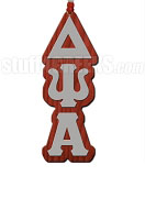 Delta Psi Alpha Greek Letter Tiki Necklace