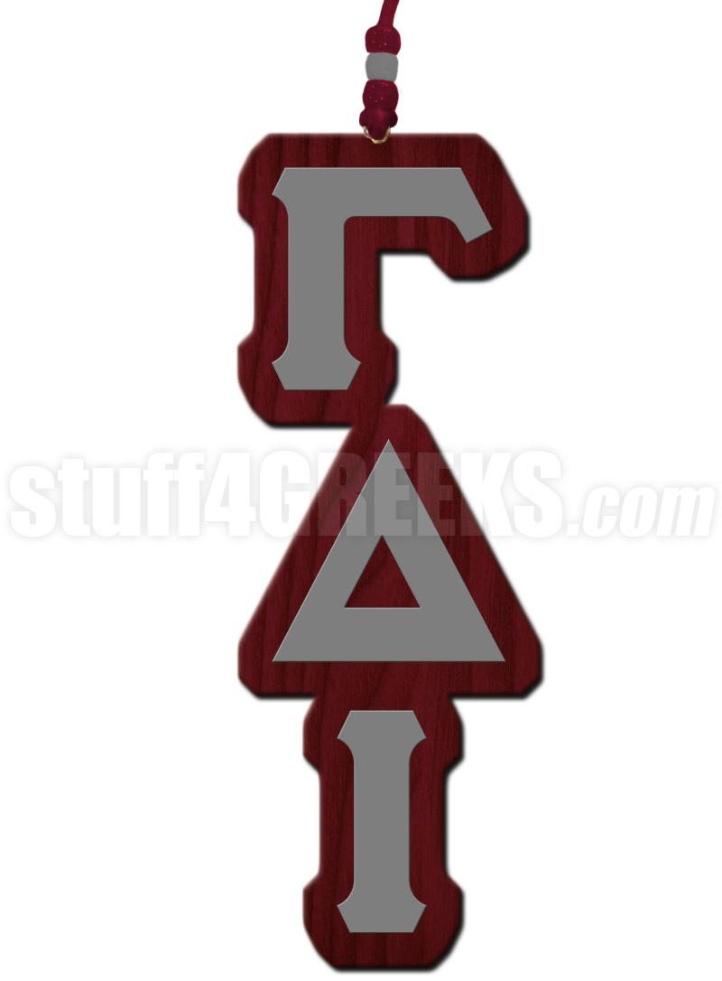 Gamma Delta Iota Greek Letter Tiki Necklace