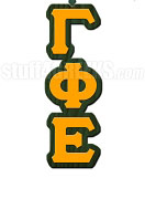 Gamma Phi Epsilon Greek Letter Tiki Necklace
