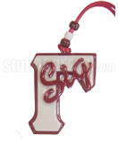 Gamma Sigma Sigma Tiki Necklace with Sig Across Large Gamma