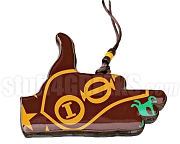 Iota Phi Theta Tiki Necklace with Crest Inside Iota Hand