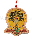 Kappa Alpha Order Crest Tiki Necklace