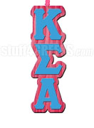 Kappa Sigma Alpha Greek Letter Tiki Necklace
