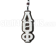 Lambda Theta Phi Greek Letter Tiki Necklace, Brown