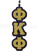Phi Kappa Phi Greek Letter Tiki Necklace