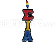 Sigma Iota Alpha Greek Letter Tiki Necklace