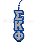 Sigma Kappa Phi Greek Letter Tiki Necklace