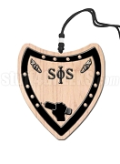 Swing Phi Swing Crest Tiki Necklace