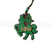 Iota Phi Theta Centaur Tiki Necklace with Greek Letters