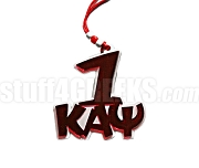 Kappa Alpha Psi Line Number Over Team Spirit Font Letters Tiki (Customize with Your Line Number)