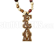 Free and Accepted Mason Tiki Necklace