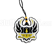 Theta Xi Theta Full-Color Crest Tiki Necklace