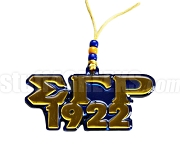 Sigma Gamma Rho Founding Year Tiki Letter Necklace