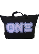 Theta Nu Xi Triple-Layered Tote Bag