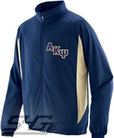Alpha Kappa Psi Logo Track Jacket (Men's), Navy/Vegas Gold