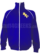 Beta Kappa Gamma Logo Letter Track Jacket, Royal Blue