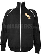 Beta Psi Chi Logo Letter Track Jacket, Black