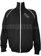 Buffalo Soldier Logo Letter Track Jacket, Black