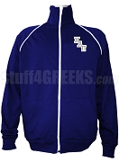 Kappa Alpha Pi Men's Logo Letter Track Jacket, Navy Blue