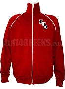 Kappa Pi Beta Logo Letter Track Jacket, Red