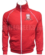 Nu Alpha Kappa Crest Track Jacket, Red