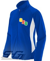 OES Varsity Logo Track Jacket, Royal/White