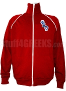 Phi Alpha Theta Men's Logo Letter Track Jacket, Red