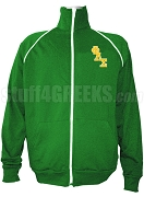 Phi Lambda Sigma Men's Logo Letter Track Jacket, Kelly Green