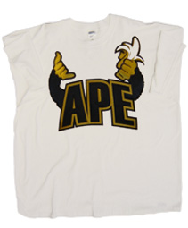 APE Screen Printed T-Shirt