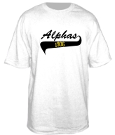 Alphas 1906 Screen Printed T-Shirt