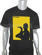 Alpha Cobra iPledged Screen Printed T-Shirt, Black