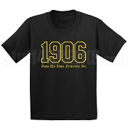 1906 Alpha Phi Alpha Old English Screen Printed T-Shirt
