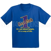 Royal/Gold Ace Club (Generation 1) Screen Printed T-Shirt, Royal