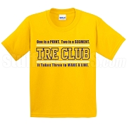 Tre Club (Gen1) Screen Printed T-Shirt, Gold/Royal