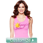Personalized Embroidered Ladies' Tank Top