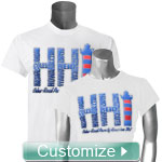 Personalized T-Shirt with DTG Full Color Design
