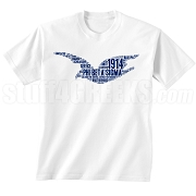 Phi Beta Sigma Dove Screen Printed T-Shirt, White - Designs by Krunkite