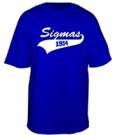 Sigmas 1914 Screen Printed T-Shirt
