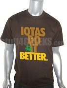 Iota Phi Theta Do It Screen Printed T-Shirt, Brown