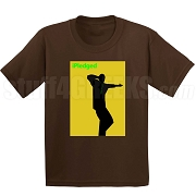 iPledged Iota Phi Theta Screen Printed T-Shirt, Brown