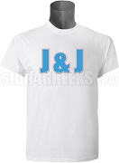 Jack & Jill Men's Organization Letter Screen Printed T-Shirt, White