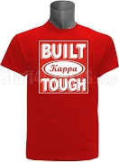 Built Tough Kappa Alpha Psi Screen Printed T-Shirt, RED