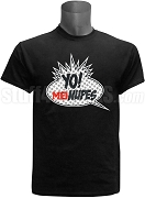Kappa Alpha Psi Mu Theta Chapter MTV Nupes Screen Printed T-Shirt, Black
