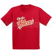 Oh So Klean Screen Printed T-Shirt, Red