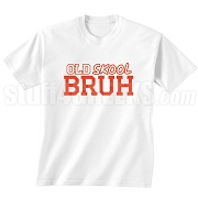 Old Skool Screen Printed T-Shirt (WHT-RED)